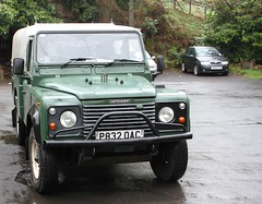 Land Rover 110 Defender P832OAC ex Demonstartor Ivor Williams Top.  18052013 023 (Frank Hilton.) Tags: classictruck truckpictures truckphotos transportphotos frankhilton northwesttrucks historicclassiccommercials 18052013