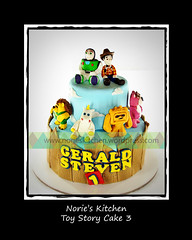 Norie's Kitchen - Toy Story Cake 3 (Norie's Kitchen) Tags: birthday cakes toy buttercup toystory buzzlightyear philippines woody story custom chunk cavite fondant gumpaste lotso mrpricklepants norieskitchen
