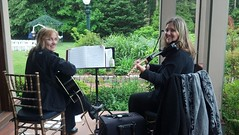 Southern Mansion Violin/Guitar wedding ceremony, Cape May NJ (nayaradha) Tags: wedding guitar violin capemay southernmansion flickrandroidapp:filter=none
