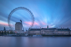London - Sunset from Westminster (kenny mccartney) Tags: uk longexposure sunset england london westminster thames canon river unitedkingdom capital londoneye southbank license getty timeout shard embankment gettyimages countyhall urbanscape londen ロンドン londoner – londonist londyn 伦敦 런던 لندن 倫敦 nd110 λονδίνο southbanktower 5d2 london2012olympicgames tse24lii kennymccartney