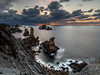 Derniers rayons sur Liencres (Hervé D.) Tags: losurros liencres santander mer sea océan atlantique atlantic espagne spain sunset coucherdesoleil paysage seascape landscape