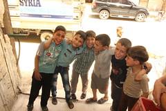 Children in Ghouta, happy despite the siege (Ummah Welfare Trust) Tags: syria food ramadan ramadhan islam muslims سوريا سورية poverty aid children war refugee displaced hunger humanitarian humanitarianism