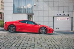 Ferrari 430 Scuderia (amakles) Tags: street italy canon italian parking poland ferrari exotic parked rosso scuderia challenge v8 stradale f430 corsa 430