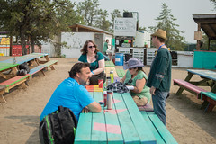 Folk On The Rocks 2016 (N'PiKS) Tags: fotr2016 board volunteer security love lips photographer pat kane photo miranda currie bushed beaver incredible kitchen team nancy macneill rocks folk rock hiphop soundtech soundmixing christmastreeinjuly christmas tree july yellowknife