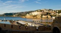 Peniscola, Spain (de.bu) Tags: peniscola popesresidence spain water mittelmehr wasser castle spanien costablanca