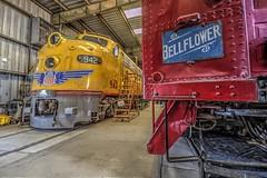 942 in the Car Barn (Michael F. Nyiri) Tags: perriscalifornia southerncalifornia riversidecounty orangeempirerailwaymuseum trains railroad