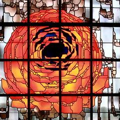 IMG_3825 Neviges Pilgrimage Church by Gottfried Bhm (marklarmuseau) Tags: nevigespilgrimagechurch wallfahrtskirchemariendom velbert nrw germany pritzkerprizelaureate1986 gottfriedbhm stainedglass