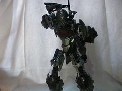 The Adversary 2 (quartzroolz) Tags: quartz roolz moc big burly man bionicle robot toa titan android bustersword guns skull spider mask god thats alot over design