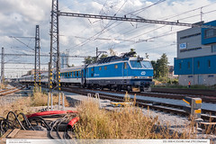 151.006-4 | Ex146 | tra 270 | Olomouc (jirka.zapalka) Tags: train trat270 olomouc ex cd stanice rada151 summer