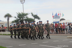 Bastille Day Celebrations - Nice France (WanderingPhotosPJB) Tags: img france nice bastilleday parade soldiers marching