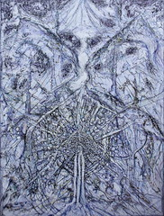 . (Lauri Laurn) Tags: art drawing outsiderart outsiderartist laurilaurn contemporaryart contemporary abstract ink marker