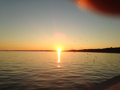 Port Stanley sunset (WabbitWanderer) Tags: sunset beach summer lakeerie labourday weekend water holiday portstanley lake evening thumb