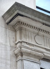 NYC_Fifth_055_003 (TNoble2008) Tags: 1911 architectrobertmaynicke archtectmaynickeandfranke capital capitalpilaster doorsurround entablature materialstone medallion ornament ornamentdentils ornamentguttae pilaster styleclassical styledoric styledoricdenticulated typecommercial typecommercialloft typeurban