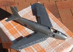 Sabre model resurrection (Dulacca.trains) Tags: hasegawa 132 model modelaircraft modelairplane modelplane modelkit plasticmodel plastickit scalemodel sabre