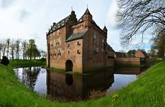 Pays-Bas - avril 2016 - chteau de Doorwerth (AlCapitol) Tags: paysbas netherlands nikon d800 chteau castle doorwerth reflet reflection
