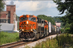 BNSF 6739 (Justin Hardecopf) Tags: bnsf burlingtonnorthernsantafe 6739 es44c4 manifest ralston nebraska railroad train