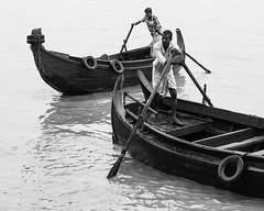 River shampans (haqiqimeraat) Tags: boats monochrome blackwhite bw bangladesh art artistic river water chittagong
