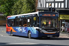 Stagecoach AD Enviro 200MMC 26083 YY16YJN - Chesterfield (dwb transport photos) Tags: stagecoach alexander dennis enviro bus 200mmc 26083 yy16yjn chesterfield