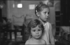 Pavel & Ksenia (thexvo) Tags: xvophoto contax contaxrx planar cy 35mm film bw portrait filmisnotdead ishootfilm 135film    carlzeiss