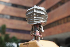 Red Knight Visits PolyU (Marco Hazard) Tags: funko pop dark souls 3 red knight polyu the hong kong polytechnic university soul cinder