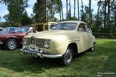 Saab 96 (Monde-Auto Passion Photos) Tags: auto automobile saab beige france 48h montargis villemandeur domaine lisledon