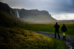 Wandering around Seljalandsfoss, Iceland by Leica M & Noctilux f/0.95 (yAvuz.kaya) Tags: seljalandsfoss iceland lightroom leica noctilux waterfall outdoor 50mm leicamp leicam rangefinder typ240 m240 rainy rain