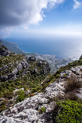Looking Out To Sea (Neal_T) Tags: 12mm africa beach coast fuji fujifilm landscape samyang southafrica ultrawideangle wideangle xt10 tablemountain capetown westerncape za