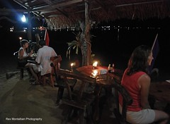 dinner in the sand (Rex Montalban Photography) Tags: rexmontalbanphotography elnido palawan philippines