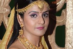 South Actress CHARULATHA Hot Photos Set-2- at Sri Ramanujar film shooting (16)