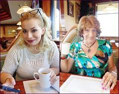 Jeta And Laurette (Laurette Victoria) Tags: jeta laurette lunch milwaukee coffee