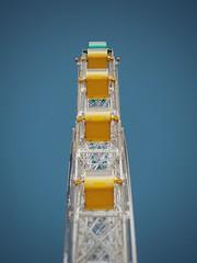 Ferris Wheel (Jon-F, themachine) Tags: jonfu 2016 olympus omd em5markii em5ii em5mkii em5mk2 em5mark2  mirrorless mirrorlesscamera microfourthirds micro43 m43 mft ft     snapseed japan  nihon nippon   japn  japo xapn asia  asian fareast orient oriental aichi   chubu chuubu   nagoya  outdoors  ferriswheel   lookup lookingup upward