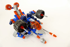 "Lance's VTOL (""grohl"") Tags: nexo knights alternate moc lego grohld grohl666 flying vtol vehicle plane scifi futuristic"