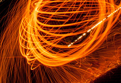 Atomic Chaos (Pixel-Poison Photography) Tags: peppermillroadbridge baltimore longexposure nightphotography nikond300s nikon1755mm28 bridges