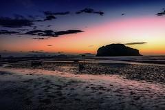 Reset or reload your dreams (yarin.asanth) Tags: yao yai koh thailand gerdkozik yarinasanth sunrise colour beach morning moon paradise black dark ships boats relax spring summer