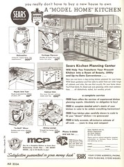 AD Slicks (File Photo Digital Archive) Tags: 1950s 1956 sears advertising vintage 50s adslicks