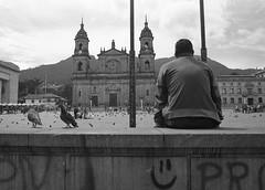 Bogota, Colombia (Magdalena Szata) Tags: analog bw bogota colombia ilfordfp4125plus ilfordid11 kwiecie minoltaxd7
