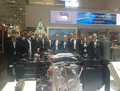 Innotrans2016_1 (Rolls-Royce Power Systems AG) Tags: mtu innotrans rollsroyce power systems rail bahn locomotive engine powerpack