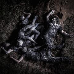Blackened Blood (Faugel) Tags: heavymetal promoshoot metal massgrave grav