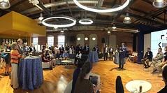 It's Entrepreneurship Week! Last night Nobel prize winner Dr. Robert Lefkowitz, Brian Hare and Alex Dehgan kicked things off with a great Q&A at the Bullpen #dukeeweek2016 [: @dukeinnovation] (Duke University) Tags: ifttt instagram duke university