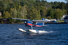 Private Cessna 180E Skywagon N71K (jbp274) Tags: 52b greenville greenvilleseaplaneflyin airplanes seaplane flyin mooseheadlake lake water cessna c180 skywagon