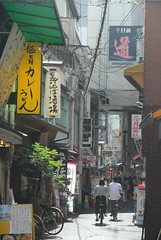 osaka908 (tanayan) Tags: urban town cityscape osaka japan nihonbashi    nikon j1 road street alley