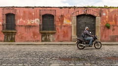 22. Antigua Cuidad, Guatemala-6.jpg (gaillard.galopere) Tags: 2016 5d 5dmkiii apn america amrique antigua canon ciudad concepts continentsetpays couleur ef eos gt gtm guatemala mkiii travel ville voyages ameriquecentrale anne calle canonphotography casa color colorful grandangle house maison pavement pierre red rojo rouge rue street ultrawideangle wideangle
