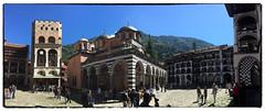 Rila monastery (imagek) Tags: rita monastery bulgaria building architecture iphone pano