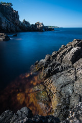 Cliff (Walther Wer) Tags: bornholm denmark dnemark heiligdomsklipperne meer ostsee langzeitbelichtung long wasser water stone granit ndfilters outdoor felsen ozean