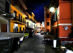 manarola in the wee hours of the morning (Rex Montalban Photography) Tags: rexmontalbanphotography italy manarola cinqueterre liguria hdr