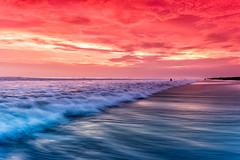 Monterrico Beach (neritron) Tags: beach playa agua water sunset landscapes paisaje cloud color colour colorido sea mar nikon d750 rokinon lee filters 24mm f14