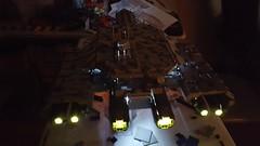 SHIPtember: Finished. Engine lights (LegoSamBo) Tags: stargate daedalus lego shiptember