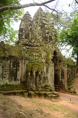 North Gate Interior (Neil Noland) Tags: cambodia siemreap angkor angkorthom gate ruin