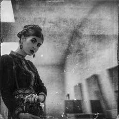 la Vivian Maier project (RapidHeartMovement) Tags: lavivianmaier selfportrait mirrored selfwcamera blackwhite squareformat rapidheartmovement