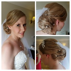 """Bride hair and make-up • <a style=""""font-size:0.8em;"""" href=""""http://www.flickr.com/photos/36560483@N04/30064611211/"""" target=""""_blank"""">View on Flickr</a>"""